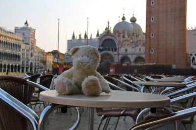 Coffee in St Mark's Square can be expensive