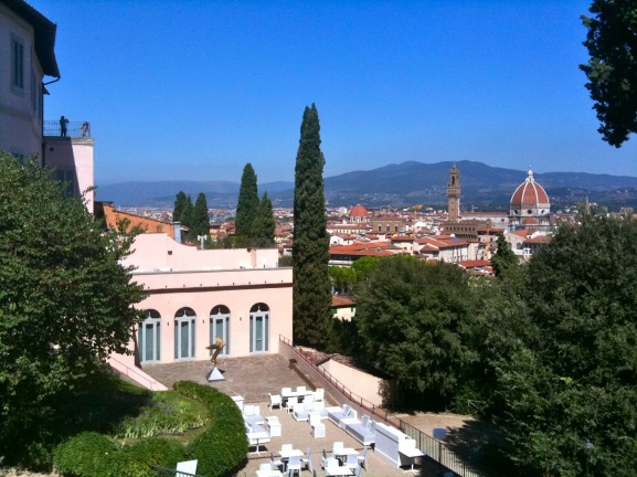 The city of Florence from the Bardini Gardens