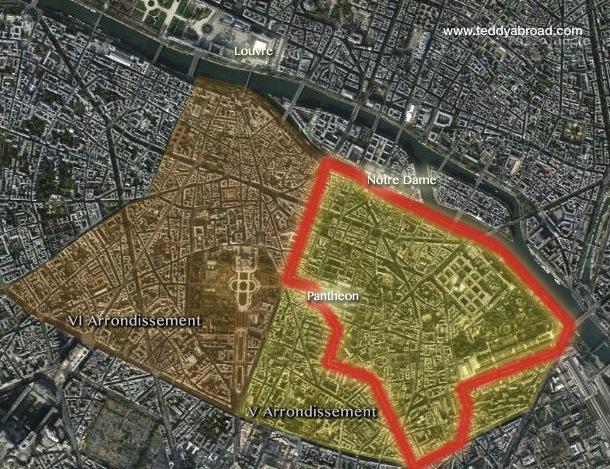 Paris Quarters Images Reverse Search - Paris map quarters