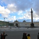 Palace Square from the Hermitage, St Petersburg