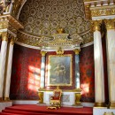 Peter's throne, The Hermitage, St Petersburg