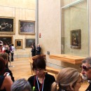 The Louvre, Paris - The Mona Lisa