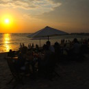Sunset dinner on Jimbaran Beach, Bali