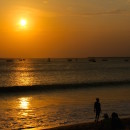 Sunset from Jimbaran Beach, Bali
