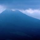 Mount Batur, active volcano, Bali