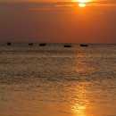 Sunset on Jimbaran Beach, Bali