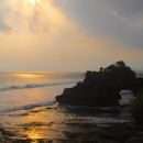 At Tanah Lot Temple, Bali