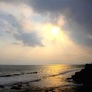 Sunset, Tanah Lot Temple, Bali