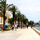 Split, Croatia - along the Croatian Coast National Revival