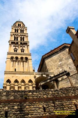 St Domnius Bell Tower, Split, Croatia