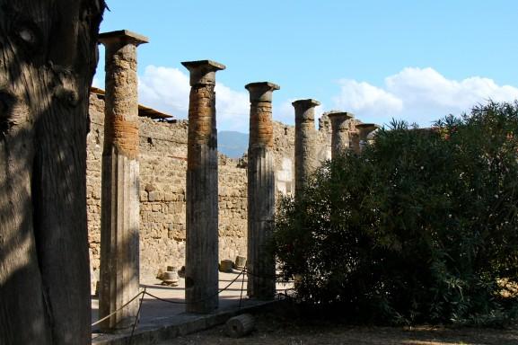 The columns of a rich merchant's atrium