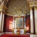 Peter's throne, The Hermitage, St Petersburg