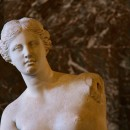 The Louvre, Paris - the Venus de Milo