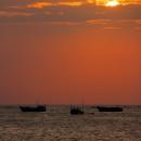 Sunset on Jimbaran Beach, Bali