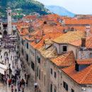 Shopping along Stradun, Dubrovnik