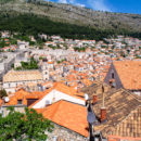 Across the old town to the new, Dubrovnik, Croatia