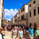 Wandering along Stradun, Dubrovnik, Croatia