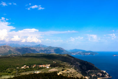 Across Dubrovnik to the deep blue waters of the Adriatic