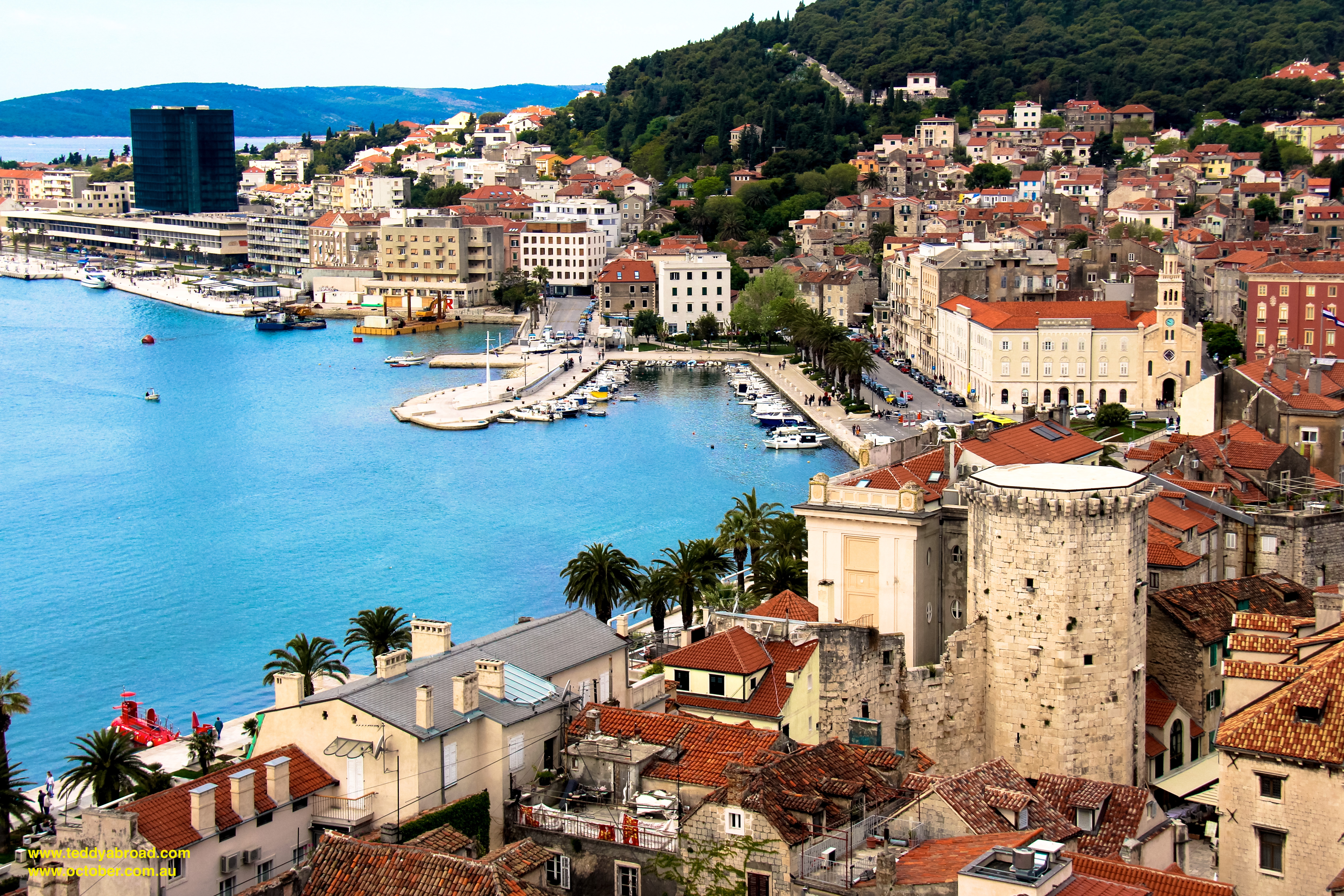 Split Croatia A Teddy Abroad