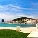 Across the harbour, Split, Croatia
